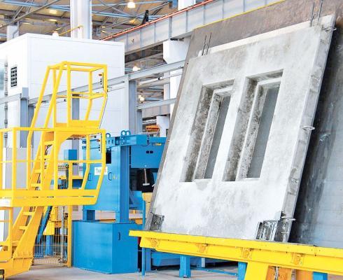 Завод ЖБК в Геокдепинском этрапе введен в строй после реконструкции