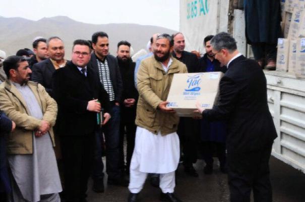 В Афганистан доставлена очередная партия гумгруза из Туркменистана