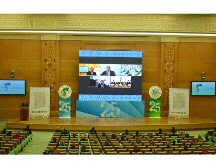 «Türkmeniň döwletlilik ýörelgesi»  kitaby azerbaýjan dilinde neşir edildi