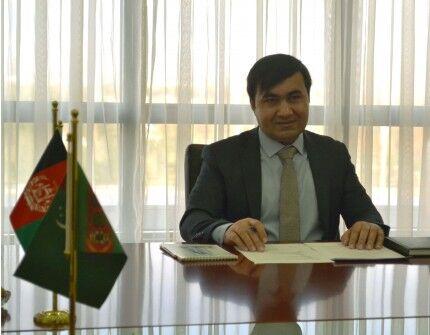 Türkmenistanda Owganystanyň täze bellenen ilçisi işläp başlady