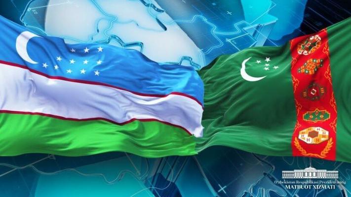 Президент Узбекистана Мирзиёев поздравил Бердымухамедова с 25-й годовщиной нейтралитета