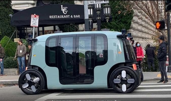 Стартап Zoox представил беспилотное такси