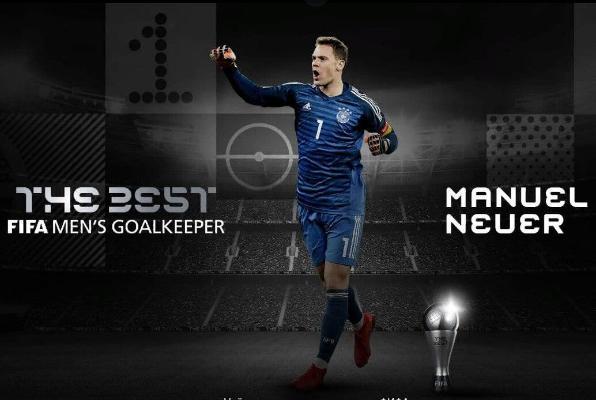 Manuel Noýer FIFA boýunça 2020-nji ýylyň iň gowy derwezebany diýlip yglan edildi