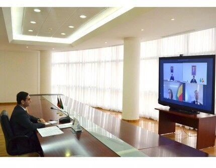 Türkmenistan we Belgiýa syýasy geňeşmeleri geçirdiler