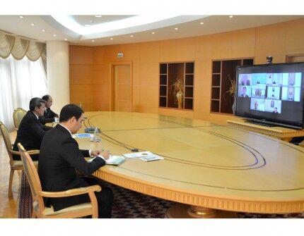 AÖB we Türkmenistan TOPH taslamasyny durmuşa geçirmegiň meselelerini maslahatlaşdy