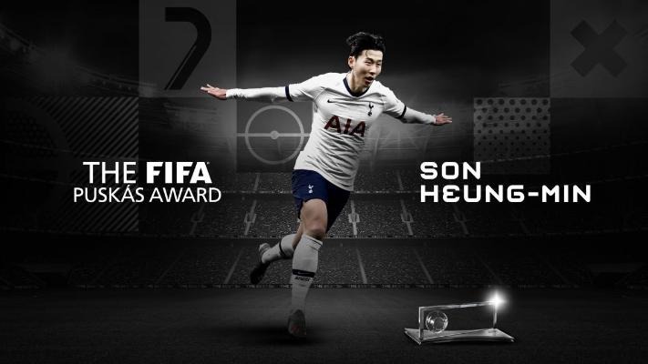 ФИФА признала гол Сон Хын Мина лучшим голом 2020 года