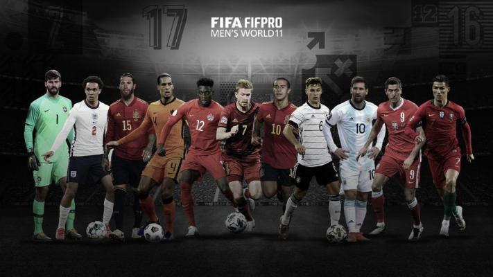 FIFA 2020-nji ýylyň simwoliki ýygyndysyny tanyşdyrdy