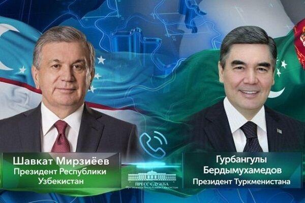 Президент Туркменистана пообщался со своим узбекским коллегой
