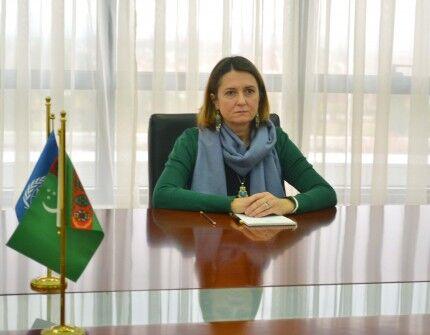 Глава странового офиса ВОЗ П.Карвовска завершает свою работу в Туркменистане