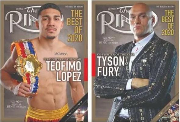 Журнал «The Ring» составил рейтинг лучших боксеров 2020 года