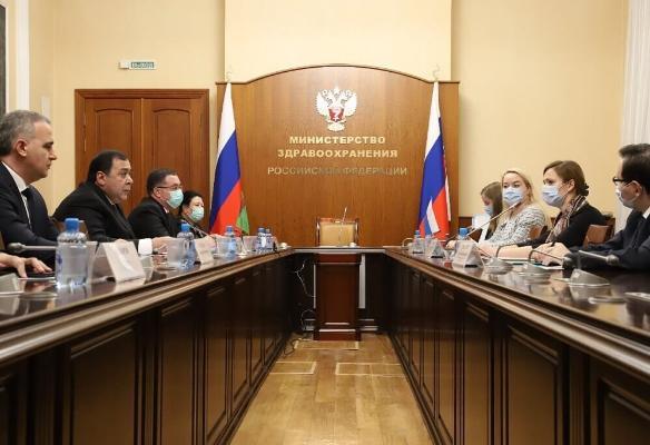 Türkmenistan «Sputnik V» sanjymyny satyn almak boýunça gepleşikleri geçirýär