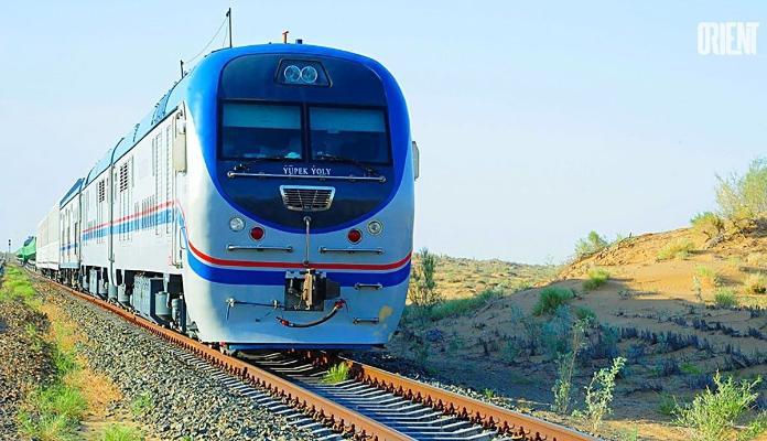 В Туркменистане продлили приостановку движения поездов