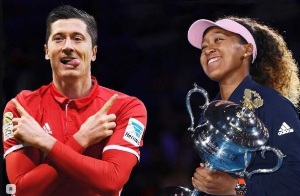 Журналисты признали Левандовского и Осаку лучшими спортсменами года