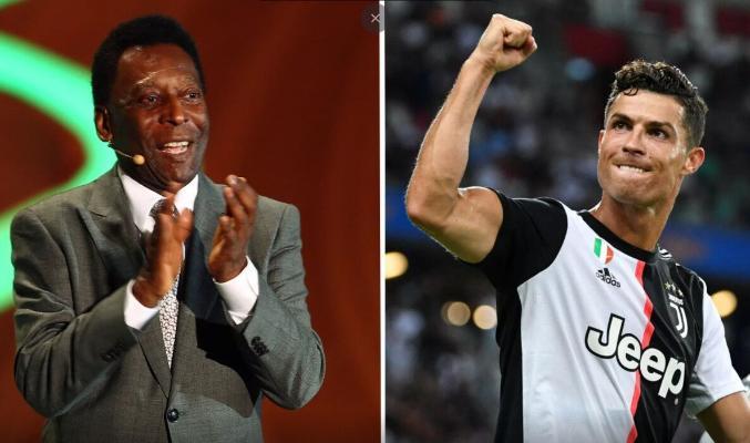 Роналду сравнялся с Пеле по количеству голов в официальных матчах