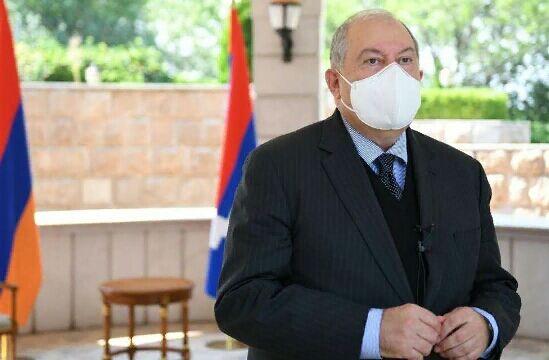 Ermenistanyň prezidenti koronawirus bilen keselledi