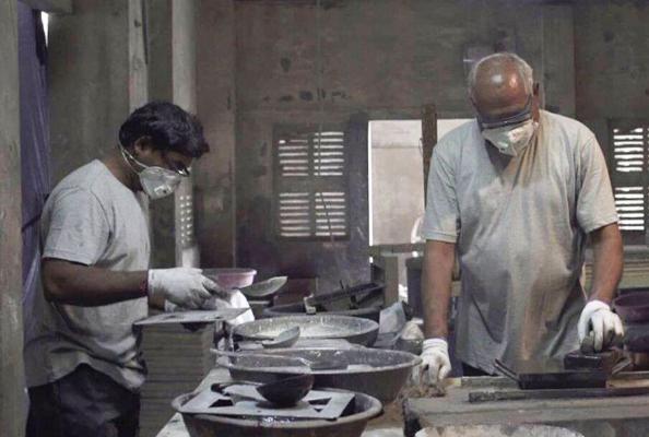 В Индии научились создавать стройматериалы из грязного воздуха
