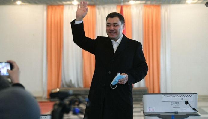 Жапаров лидирует на выборах в Киргизии после подсчета 98% бюллетеней