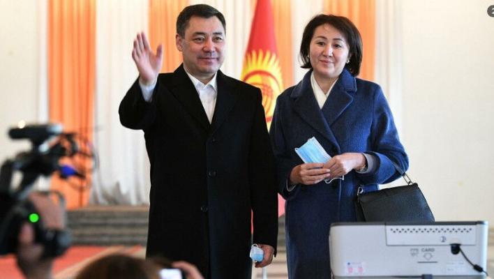 Sadyr Japarow Gyrgyzystanyň täze Prezidenti saýlandy
