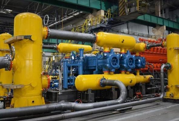 Türkmenistanda Malaý gaz gysyjy desgasy işe giriziler