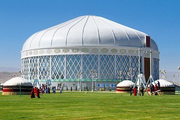 В Дашогузском велаяте ведется строительство ряда значимых объектов