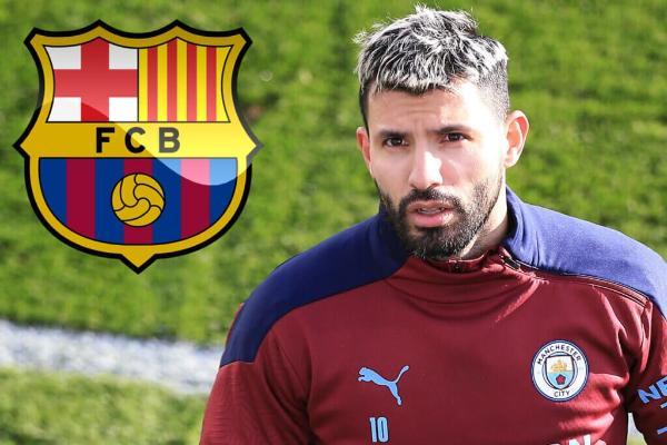 "ПСЖ и ""Барселона"" претендуют на форварда ""Манчестер Сити"" Агуэро"