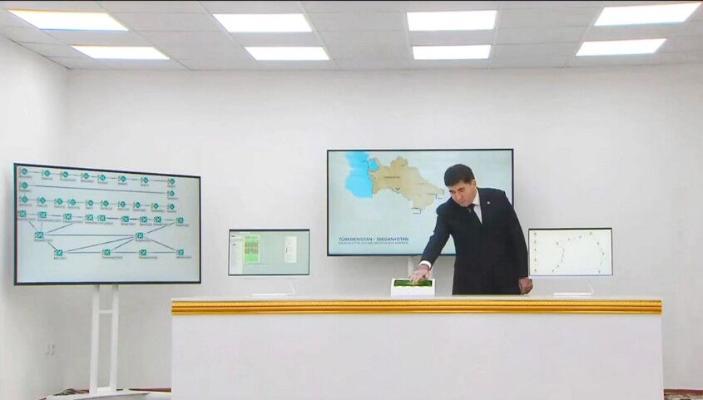 Туркменистан и Афганистан запустили международную оптико-волоконную систему связи