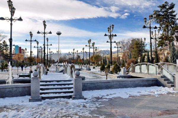Погода в Туркменистане резко похолодает