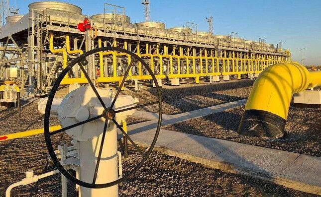 Начала работу газокомпрессорная станция в месторождении Малай