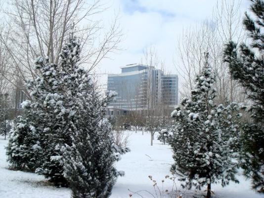 В Туркменистане грядут снег и морозы
