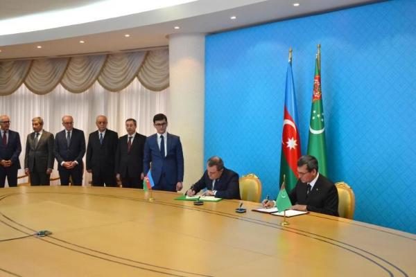 Ашхабад и Баку подписали Меморандум о взаимопонимании по месторождению «Достлук»