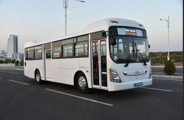 В Ашхабаде изменились движения автобусных маршрутов №№ 43 и 46