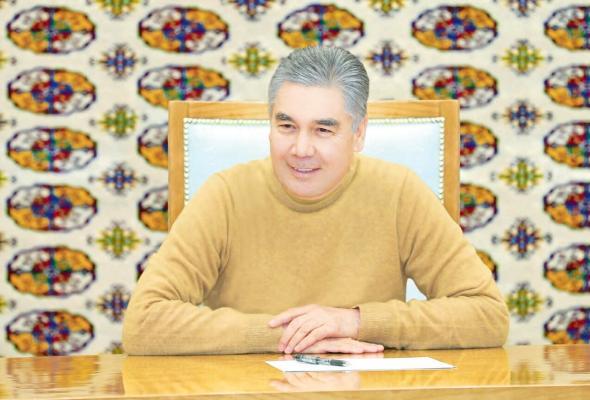 Gurbanguly Berdimuhamedow Aşgabat boýunça iş saparyny amala aşyrdy
