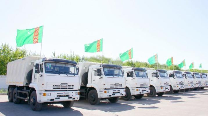 «КАМАЗ» поставит в Туркменистан 463 единиц автотехники в течение 2021 года