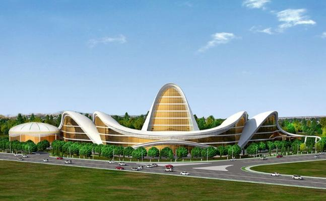 Türkmenistanyň Prezidenti «Garagum» myhmanhanasynyň gurluşygy bilen tanyşdy