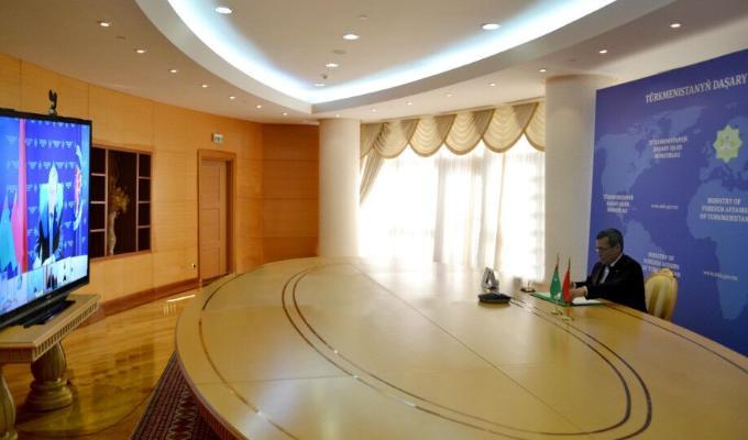 Состоялись туркмено-белорусские межмидовские консультации