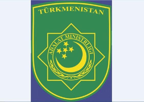 Adalat ministrine «Türkmenistanyň at gazanan ýuristi» diýen hormatly at dakyldy