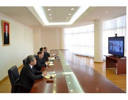 Состоялась онлайн-встреча с главой компании «Kawasaki Heavy Industries, Ltd»