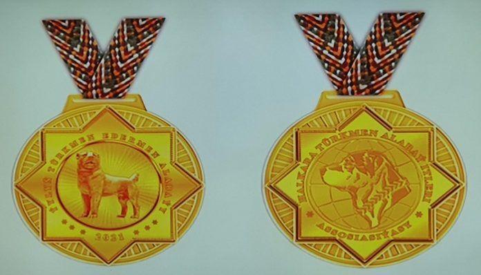 Бердымухамедов одобрил эскизы медалей для конкурса красоты среди алабаев