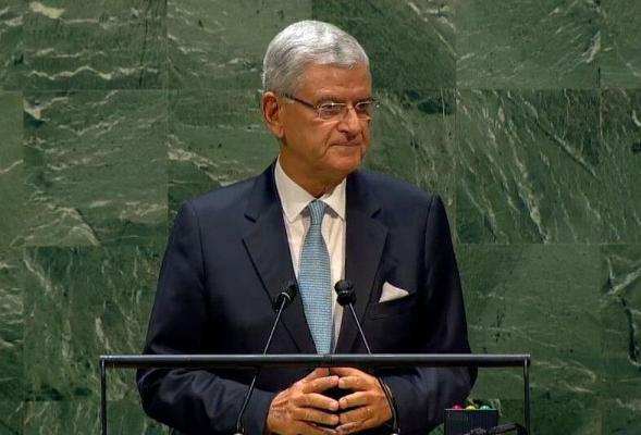 Председатель Генассамблеи ООН Волкан Бозкыр выступил на мероприятии в ИМО МИД Туркменистана