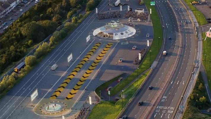 Hyundai построит в Великобритании первый в истории порт для летающих такси