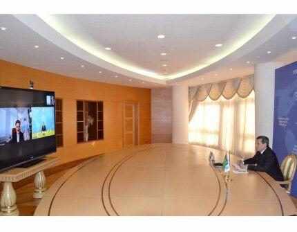 Глава IRU заявил о готовности поддержать транспортные инициативы Туркменистана