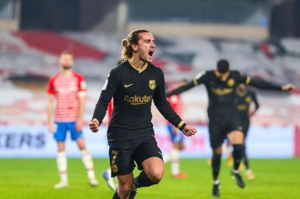«Barselona» 88-nji minutda 0:2 utulyp gelýän halyna, «Granadadan» üstün çykdy