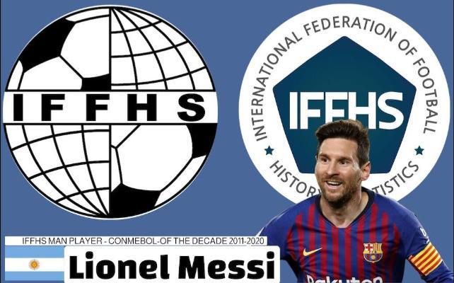Месси признан лучшим южноамериканским футболистом десятилетия