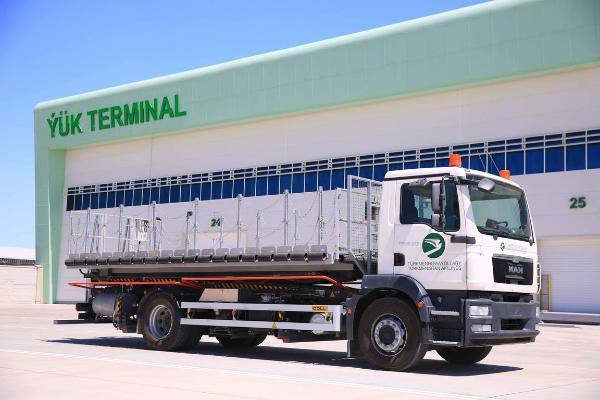 В аэропортах Туркменистана функционирует служба по отправке малых грузов