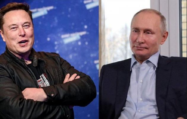 Илон Маск обратился к Twitter-аккаунту Путина на русском