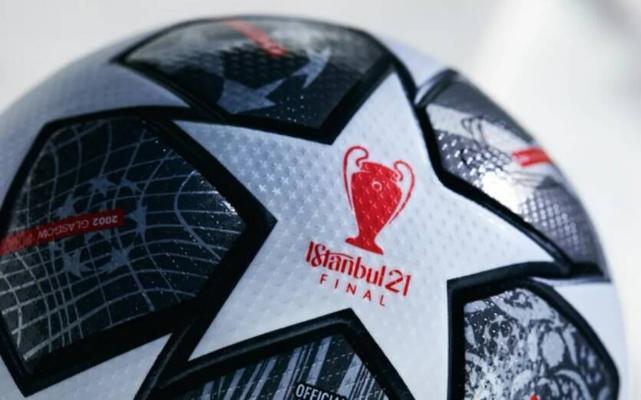 УЕФА представил официальный мяч плей-офф Лиги чемпионов 2021 года