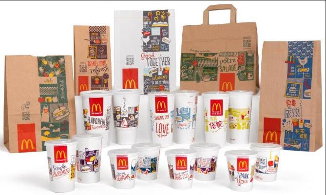 Упаковки в McDonald's получат новый дизайн