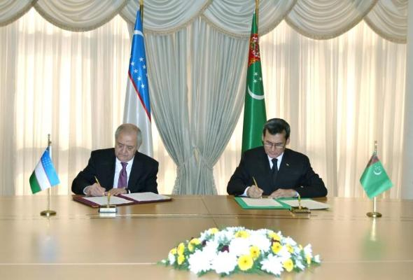 Türkmenistanyň we Özbegistanyň DIM-i Hyzmatdaşlyk Maksatnamasyny kabul etdiler