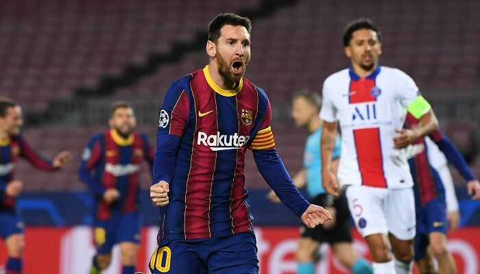 Messi Çempionlar ligasynda Raulyň rekordyny gaýtalady