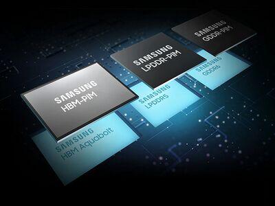 Samsung показал уникальную компьютерную память с искусственным интеллектом